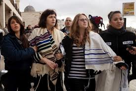 Rabbi Susan Silverman and Hallel Abramowitz-Silverman at the Western Wall