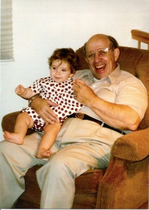 Dennis Fasman & granddaughter Anna