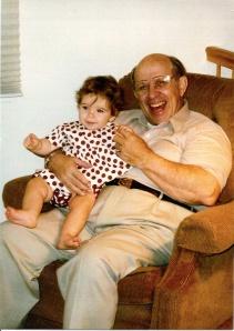 Dennis Fasman & granddaughter Anna